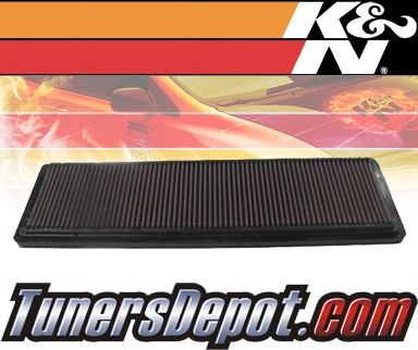 K&N® Drop in Air Filter Replacement - 91-95 Porsche 928 5.4L V8