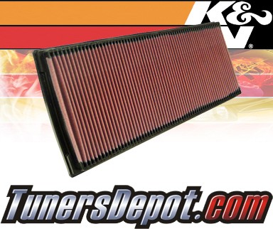 K&N® Drop in Air Filter Replacement - 91-95 Porsche 968 3.0L 4cyl