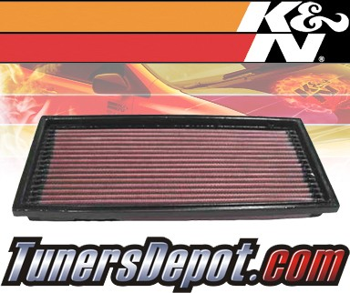 K&N® Drop in Air Filter Replacement - 91-96 Mercury Tracer 1.9L 4cyl