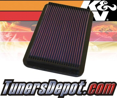 K&N® Drop in Air Filter Replacement - 91-96 Toyota Camry 2.2L 4cyl