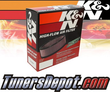 K&N® Drop in Air Filter Replacement - 91-97 Isuzu Rodeo 2.6L 4cyl