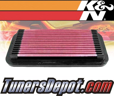 K&N® Drop in Air Filter Replacement - 91-98 Toyota Tercel 1.5L 4cyl