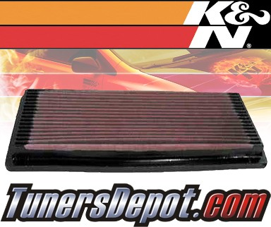 K&N® Drop in Air Filter Replacement - 92-02 Dodge Viper 8.0L V10