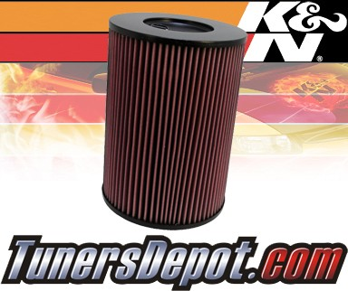 K&N® Drop in Air Filter Replacement - 92-05 Hummer H1 6.5L V8 Diesel