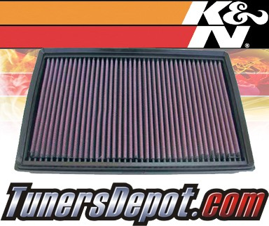 K&N® Drop in Air Filter Replacement - 92-08 Ford Crown Victoria 4.6L V8