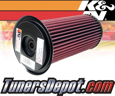 K&N® Drop in Air Filter Replacement - 92-93 Land Rover Range Rover I Off Road 2.5L 4cyl Diesel