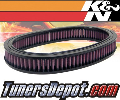 K&N® Drop in Air Filter Replacement - 92-94 Ford Escort Express 1.3L 4cyl CARB