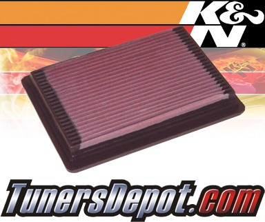 K&N® Drop in Air Filter Replacement - 92-94 Mercury Topaz 2.3L 4cyl