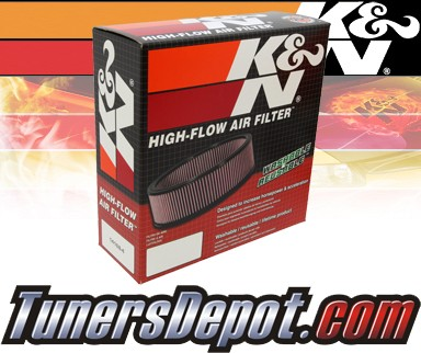 K&N® Drop in Air Filter Replacement - 92-94 Plymouth Sundance 2.5L 4cyl