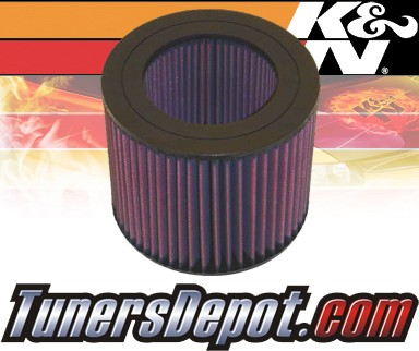 K&N® Drop in Air Filter Replacement - 92-97 Toyota Land Cruiser 4.5L L6