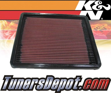 K&N® Drop in Air Filter Replacement - 93-96 Mazda RX-7 RX7 1.3L R2
