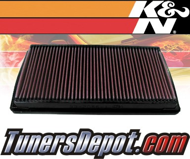 K&N® Drop in Air Filter Replacement - 93-97 Dodge Intrepid 3.3L V6