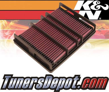 K&N® Drop in Air Filter Replacement - 93-97 Lexus GS300 3.0L L6