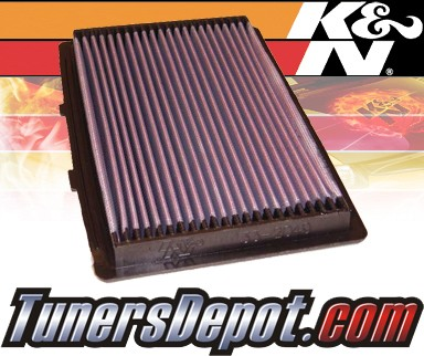 K&N® Drop in Air Filter Replacement - 93-97 Mazda 626 2.0L 4cyl