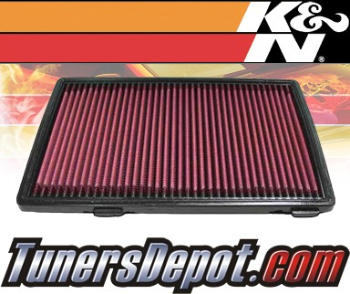 K&N® Drop in Air Filter Replacement - 93-98 Nissan Quest 3.0L V6