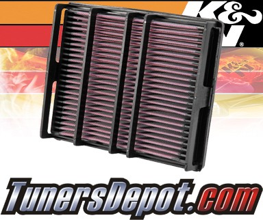 K&N® Drop in Air Filter Replacement - 93-98 Toyota Supra 3.0L L6