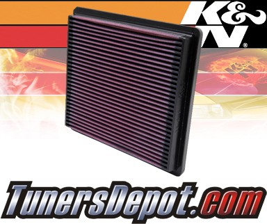 K&N® Drop in Air Filter Replacement - 94-00 Mitsubishi Montero 3.5L V6