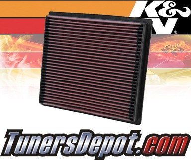 K&N® Drop in Air Filter Replacement - 94-02 Dodge Ram 3500 5.9L L6 Diesel