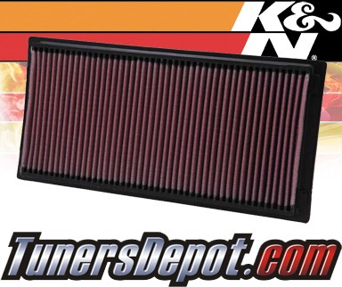 K&N® Drop in Air Filter Replacement - 94-02 Dodge Ram 3500 5.9L V8