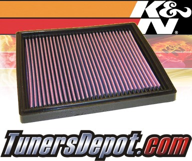 K&N® Drop in Air Filter Replacement - 94-94 Porsche 911 Turbo 3.6L H6