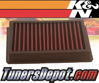 K&N® Drop in Air Filter Replacement - 94-95 Ford Fiesta 1.8L 4cyl Diesel