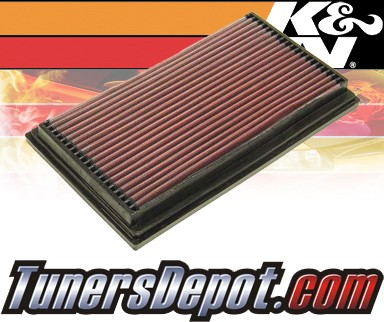 K&N® Drop in Air Filter Replacement - 94-95 Saab 900 2.3L 4cyl