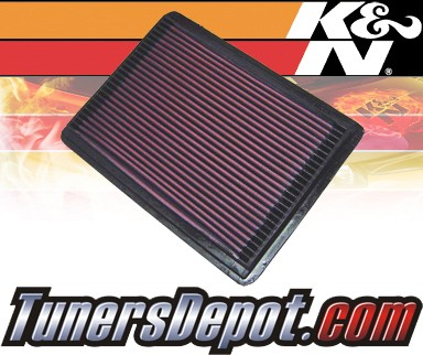 K&N® Drop in Air Filter Replacement - 94-96 Buick Roadmaster 5.7L V8