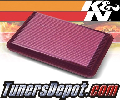 K&N® Drop in Air Filter Replacement - 94-96 Honda Passport 2.6L 4cyl