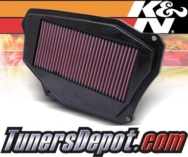 K&N® Drop in Air Filter Replacement - 94-97 Honda Accord 2.2L 4cyl
