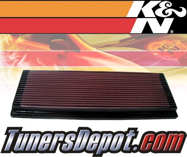 K&N® Drop in Air Filter Replacement - 95-00 Mercury Mystique 2.0L 4cyl