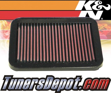 K&N® Drop in Air Filter Replacement - 95-00 Suzuki Esteem 1.6L 4cyl