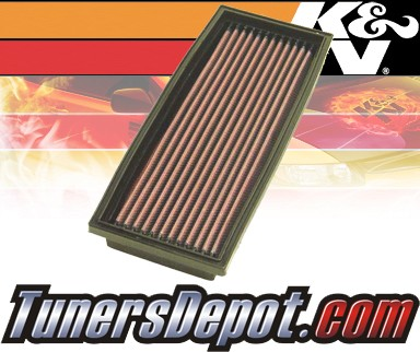 K&N® Drop in Air Filter Replacement - 95-05 Lotus Elise 1.8L 4cyl