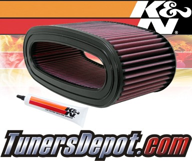 K&N® Drop in Air Filter Replacement - 95-97 Ford F250 F-250 7.3L V8 Diesel