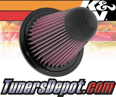 K&N® Drop in Air Filter Replacement - 95-97 Mazda B2300 2.3L 4cyl
