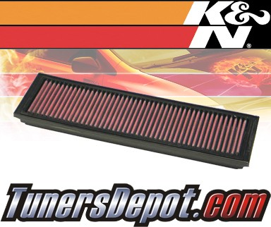 K&N® Drop in Air Filter Replacement - 95-97 Mercedes S600 W140 6.0L V12