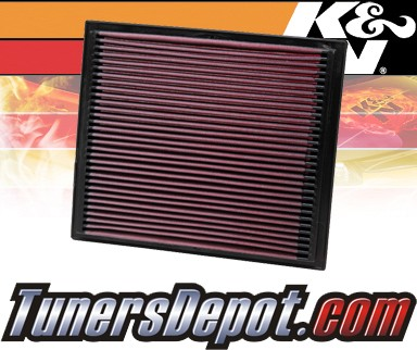 K&N® Drop in Air Filter Replacement - 95-98 Volkswagen VW Golf III 2.0L 4cyl