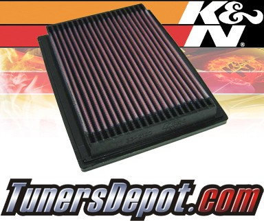 K&N® Drop in Air Filter Replacement - 96-00 Honda Civic DX 1.6L 4cyl