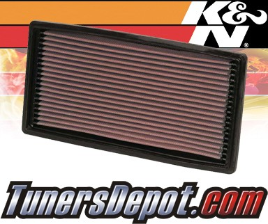 K&N® Drop in Air Filter Replacement - 96-00 Isuzu Hombre 2.2L 4cyl