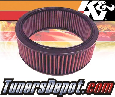 K&N® Drop in Air Filter Replacement - 96-96 Chevy Express 2500 5.0L V8 TBI