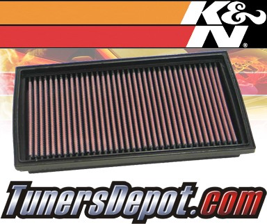 K&N® Drop in Air Filter Replacement - 96-97 Saab 900 2.3L 4cyl