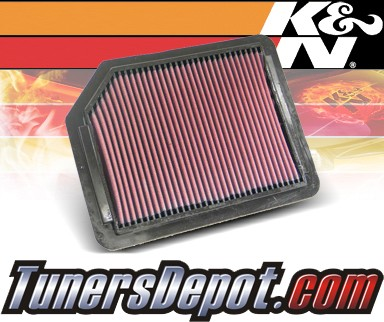K&N® Drop in Air Filter Replacement - 96-98 Acura TL 2.5 2.5L L5