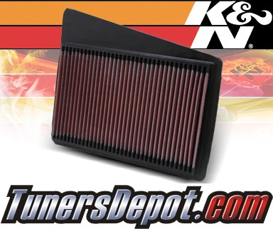 K&N® Drop in Air Filter Replacement - 96-98 Acura TL 3.2 3.2L V6
