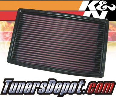 K&N® Drop in Air Filter Replacement - 96-98 Pontiac Grand Am 2.4L 4cyl