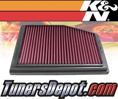 K&N® Drop in Air Filter Replacement - 96-99 Porsche Boxster 2.5L H6