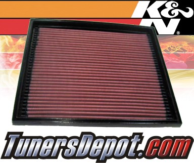 K&N® Drop in Air Filter Replacement - 97-01 Cadillac Catera 3.0L V6