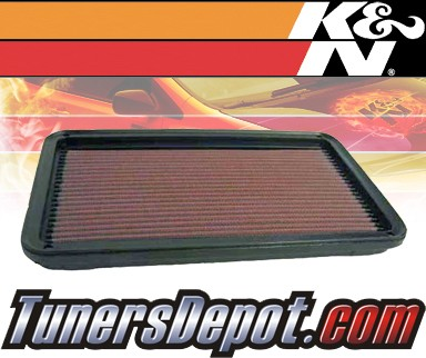 K&N® Drop in Air Filter Replacement - 97-01 Toyota Camry 2.2L 4cyl