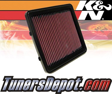 K&N® Drop in Air Filter Replacement - 97-03 Daewoo Lanos 1.4L 4cyl