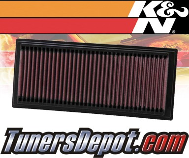 K&N® Drop in Air Filter Replacement - 97-06 Land Rover Freelander 1.8L 4cyl