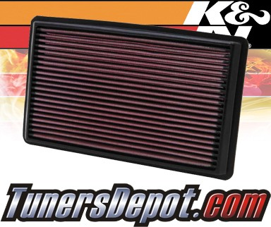 K&N® Drop in Air Filter Replacement - 97-98 Subaru Forester 2.5L H4
