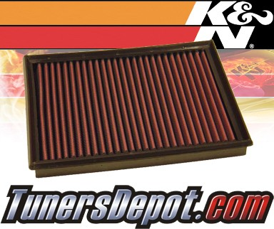 K&N® Drop in Air Filter Replacement - 97-98 Volvo V90 2.9L L6